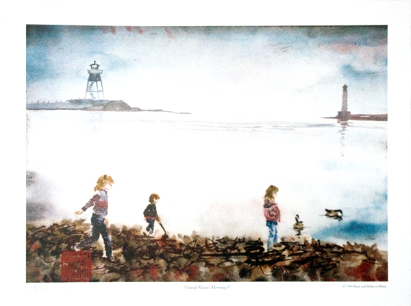 Grand Marais Morning Limited Edition Print