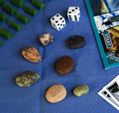 North Shore-opoly Pebbles and Dice